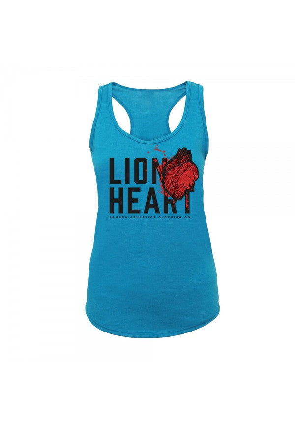 Lion heart ladies tank samson athletics