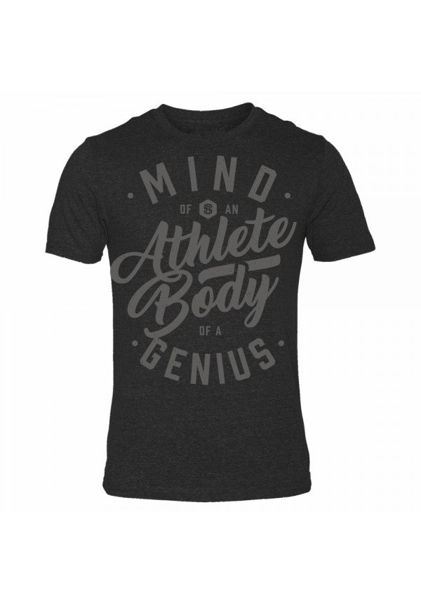 Mind of an athlete triblend t-shirt samson athletics