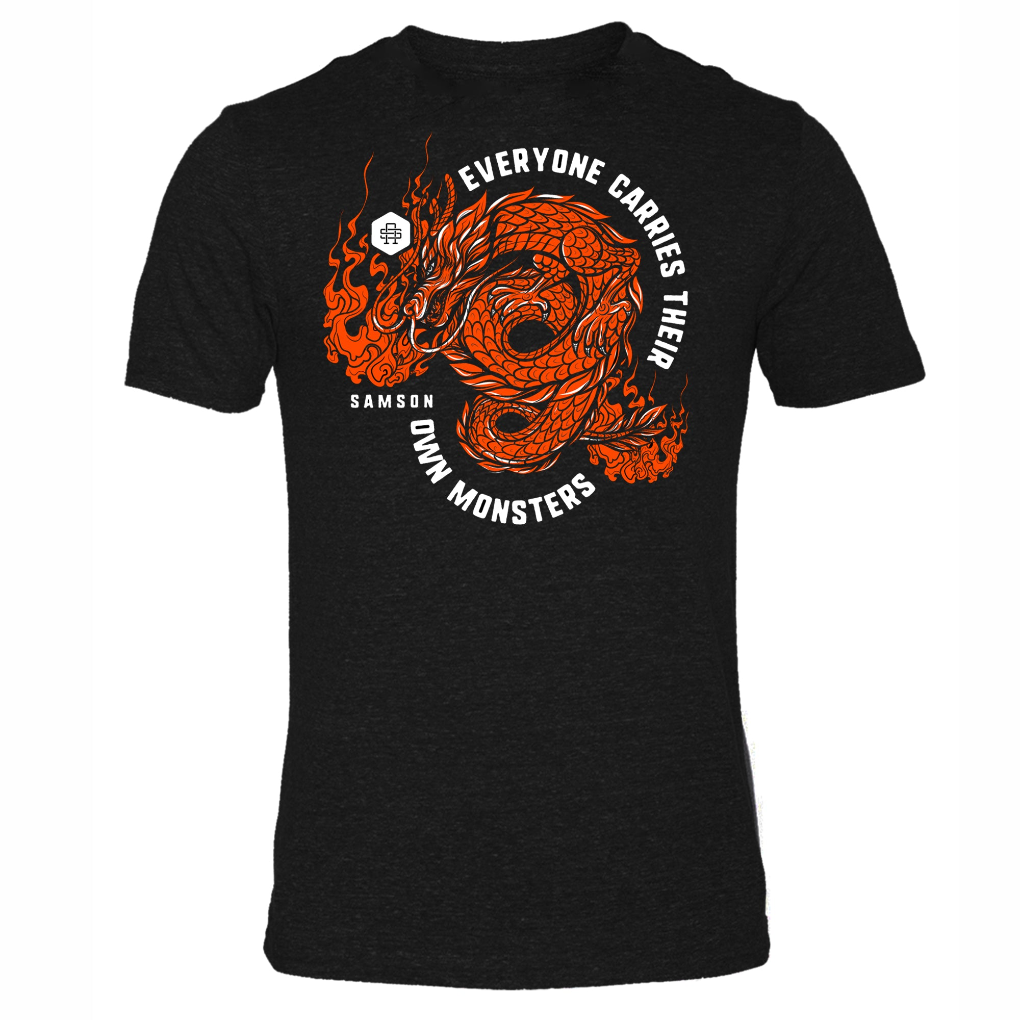 Everyone Carries Their Own Monsters - Gym T Shirt