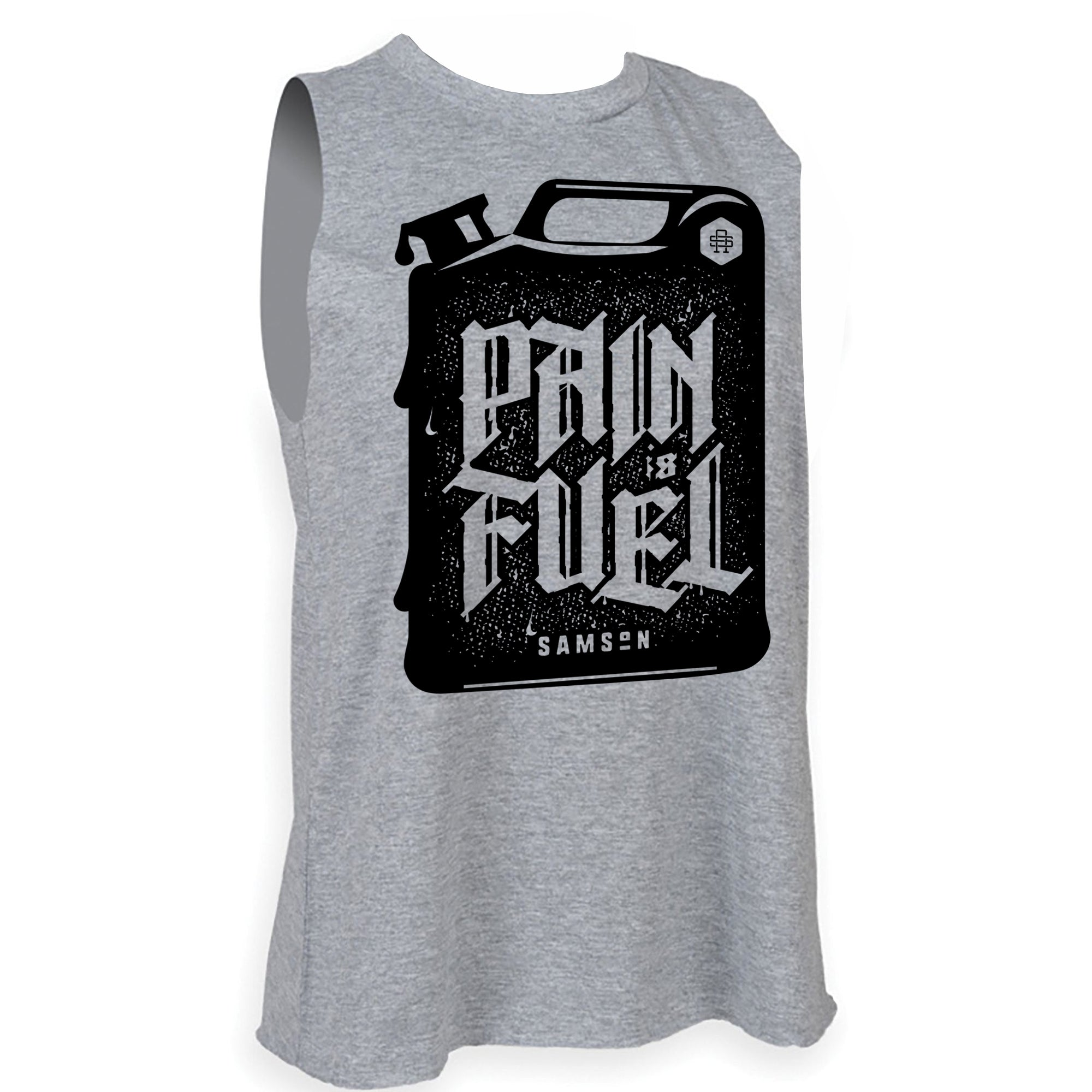 Ladies Pain Is Fuel Tank Top