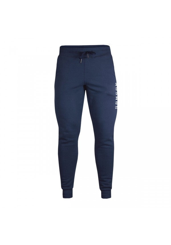 Men's tapered jogging pants navy samson athletics