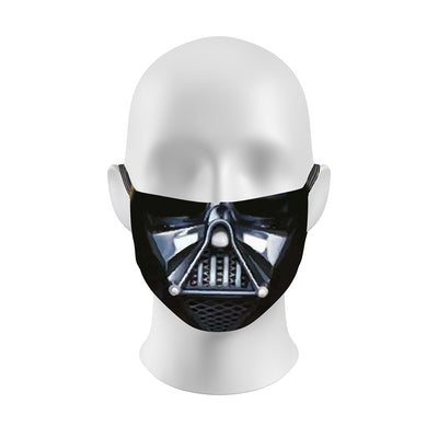Face Mask with Darth Vadar design | By Samson Athletics