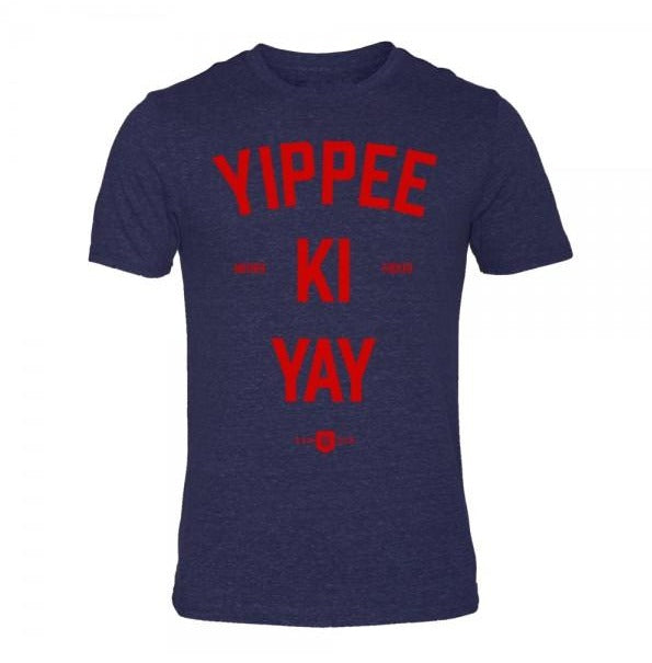 Yippee ki yay triblend t-shirt samson athletics