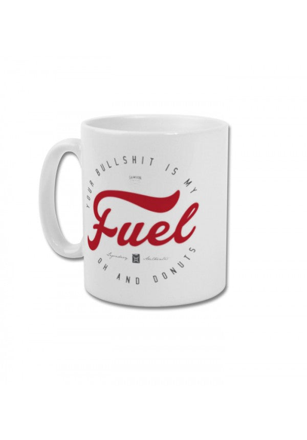 Your bull is my fuel, oh and donuts mug samson athletics