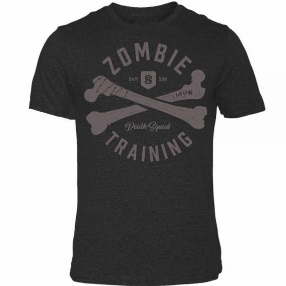 Zombie death squad triblend t-shirt samson athletics