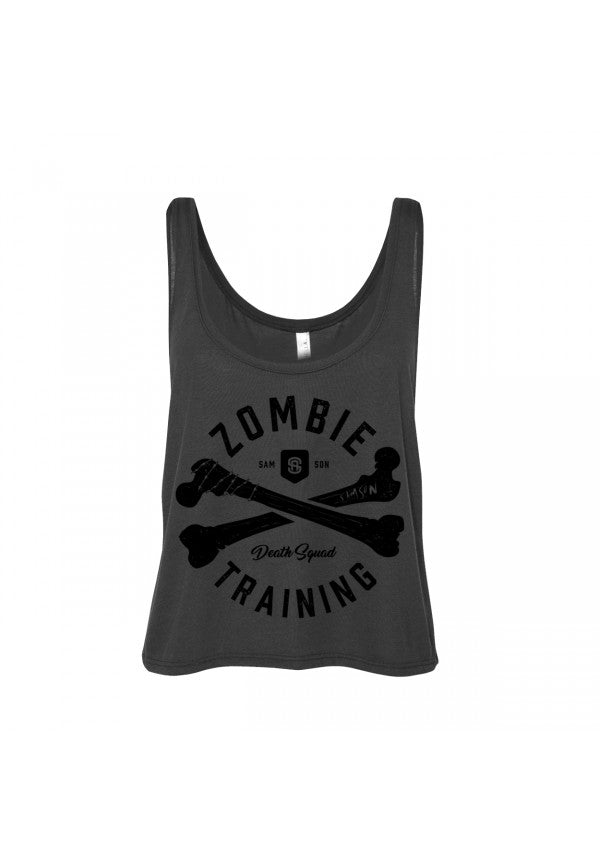 Zombie death squad cropped tank samson athletics