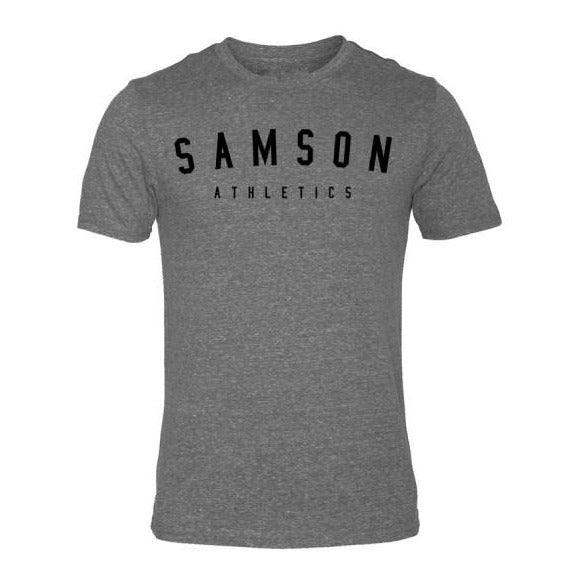Classic signature grey triblend t-shirt samson athletics