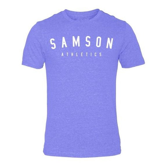 Classic signature light blue triblend t-shirt samson athletics