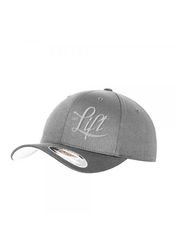 Just lift grey flexfit cap samson athletics