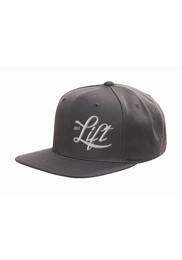 Just lift grey flexfit snapback samson athletics