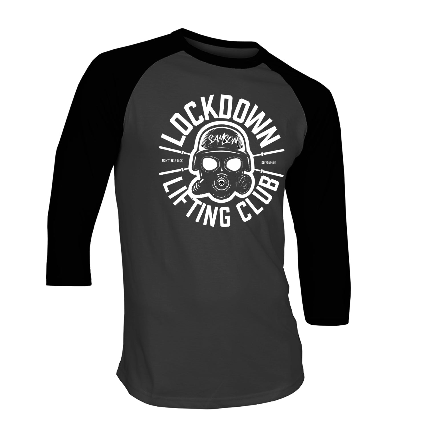 Lockdown Lifting Club - Baseball Tee