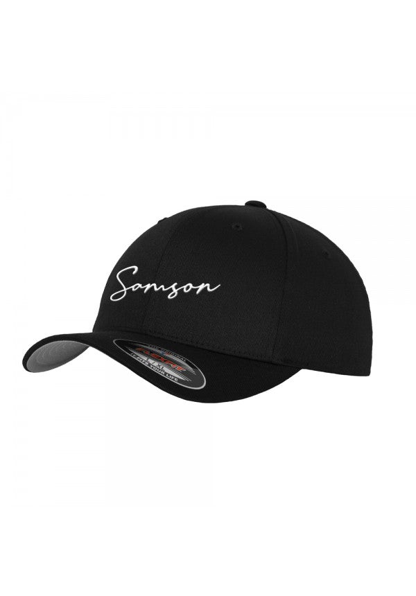 Signature flexfit baseball cap black samson athletics