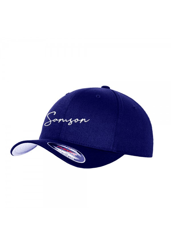 Signature flexfit baseball cap navy samson athletics