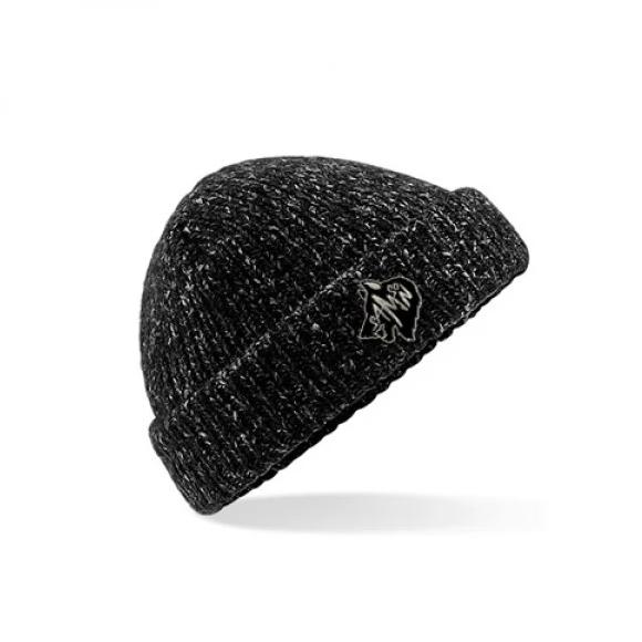 Beanie hat black fleck samson athletics
