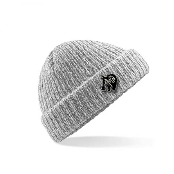 Beanie hat light grey fleck samson athletics