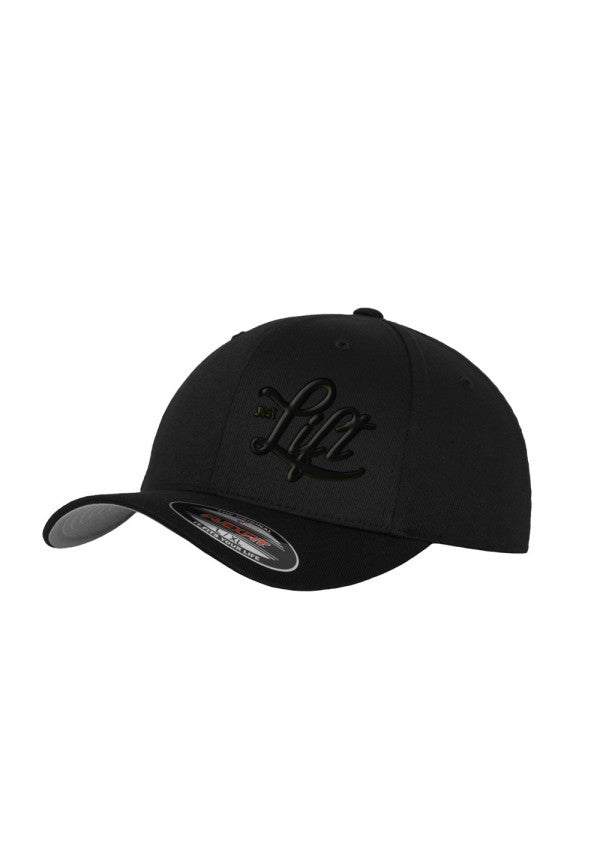 Just lift black flexfit cap samson athletics