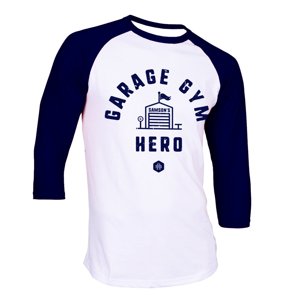 Garage Gym Hero - Baseball TShirt