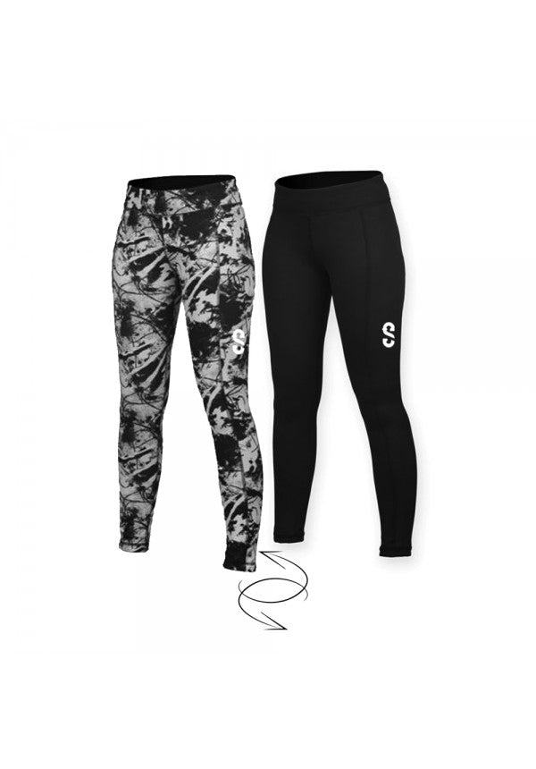 Samson reversible leggings ladies samson athletics
