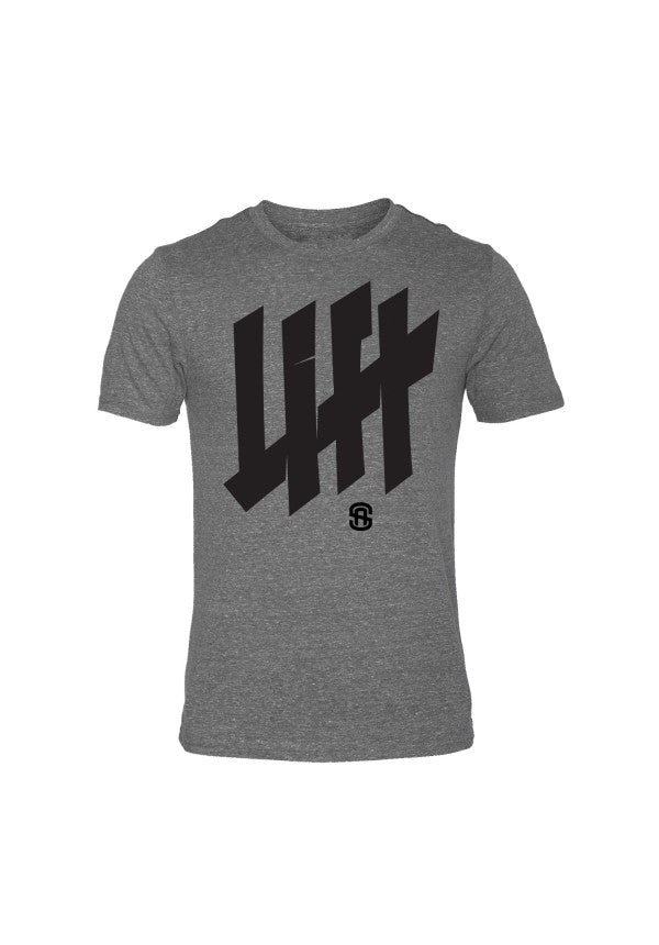 Lift tally triblend t-shirt samson athletics