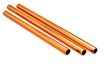 "Copperflow CC-001L Tubo Cobre Tipo L 13 mm - 1/2"" Largo 1.00 Metro"