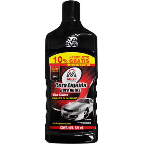 Marvil Cera Liquida con Silicon 473 ml