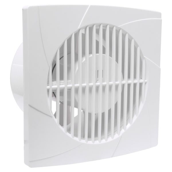 "Extractor de Aire 6"" Color Blanco Surtek"
