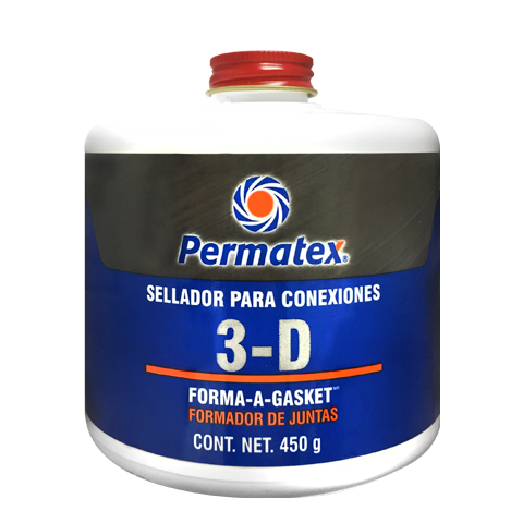 Permatex 3-D Sellador Aviacion FORM-A-GASKET 450 gms