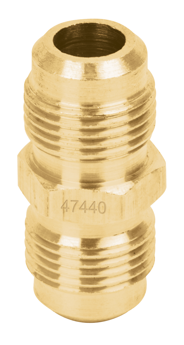 "Niple Union para Gas  8 mm x  8 mm (5/16"" x 5/16"") Foset"