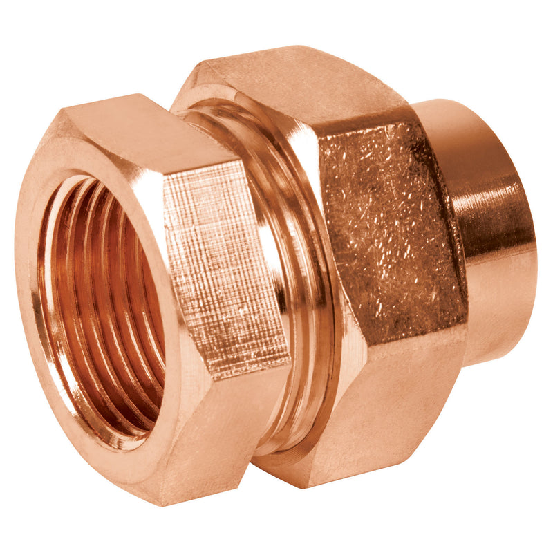 Tuerca Union Cobre Rosca Interior Copperflow