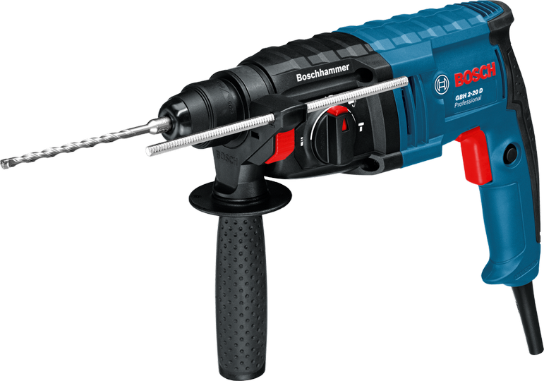 Rotomartillo Electroneumatico  650 Watts 1.7 Joules SDS Plus GBH 2-20 D Bosch Professional