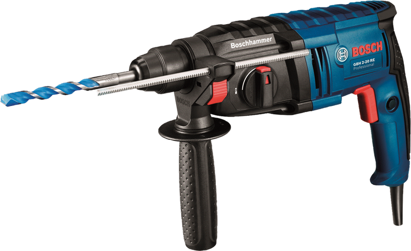 Rotomartillo Electroneumatico  650 Watts 1.7 Joules SDS Plus GBH 2-20 Bosch Professional