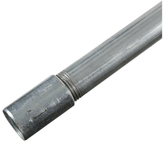 "Tubo Conduit Pared Gruesa 13 mm - 1/2"" Tramo 3 Metros Omega"