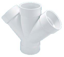 Yee PVC Sanitario Doble 100 mm X 100 mm X 100 mm