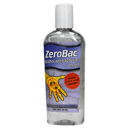 Alcohol Antibacterial en Gel 240 ml Carnu