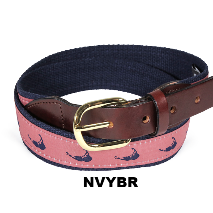 Nobby Shop Collection Belts-Nantucket Island