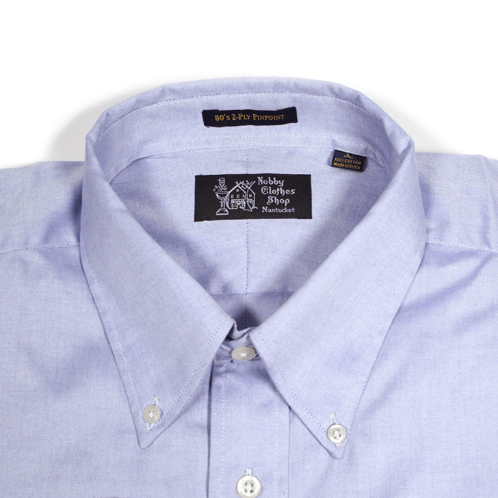 Pinpoint Oxford Long Sleeve Button Down Shirt