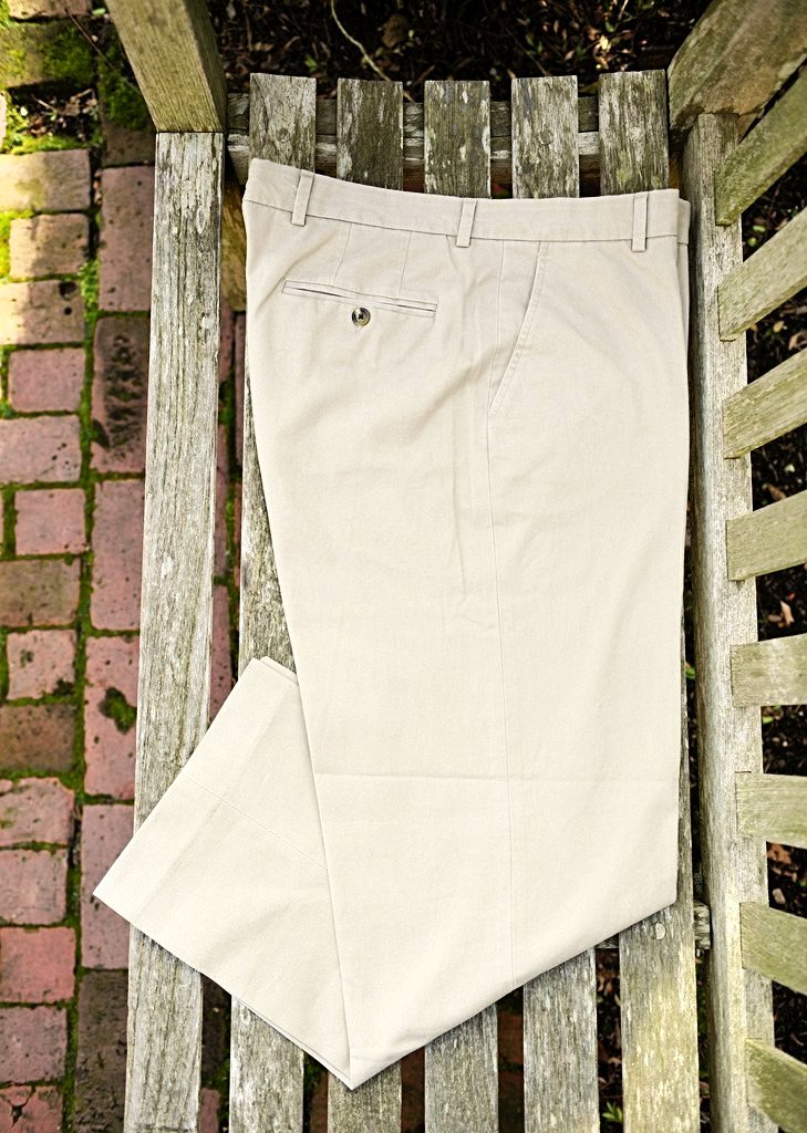 Island Sands Khaki Pants Plain Front