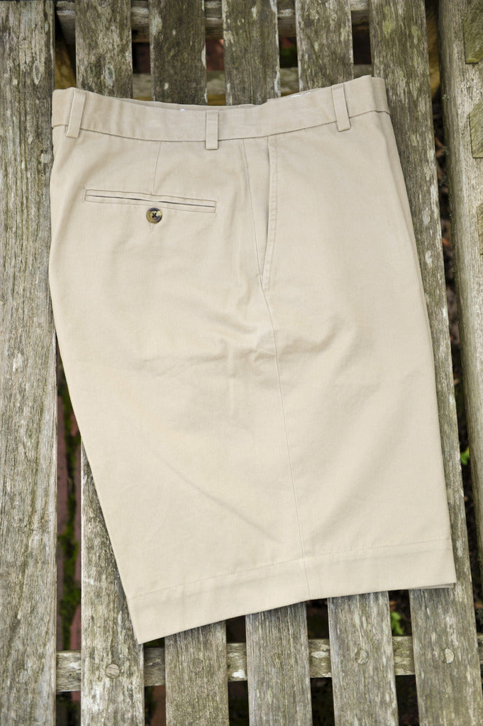 Island Sands Khaki Shorts Plain Front