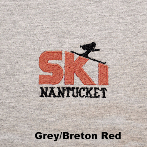 Ski Nantucket Mock Turtleneck