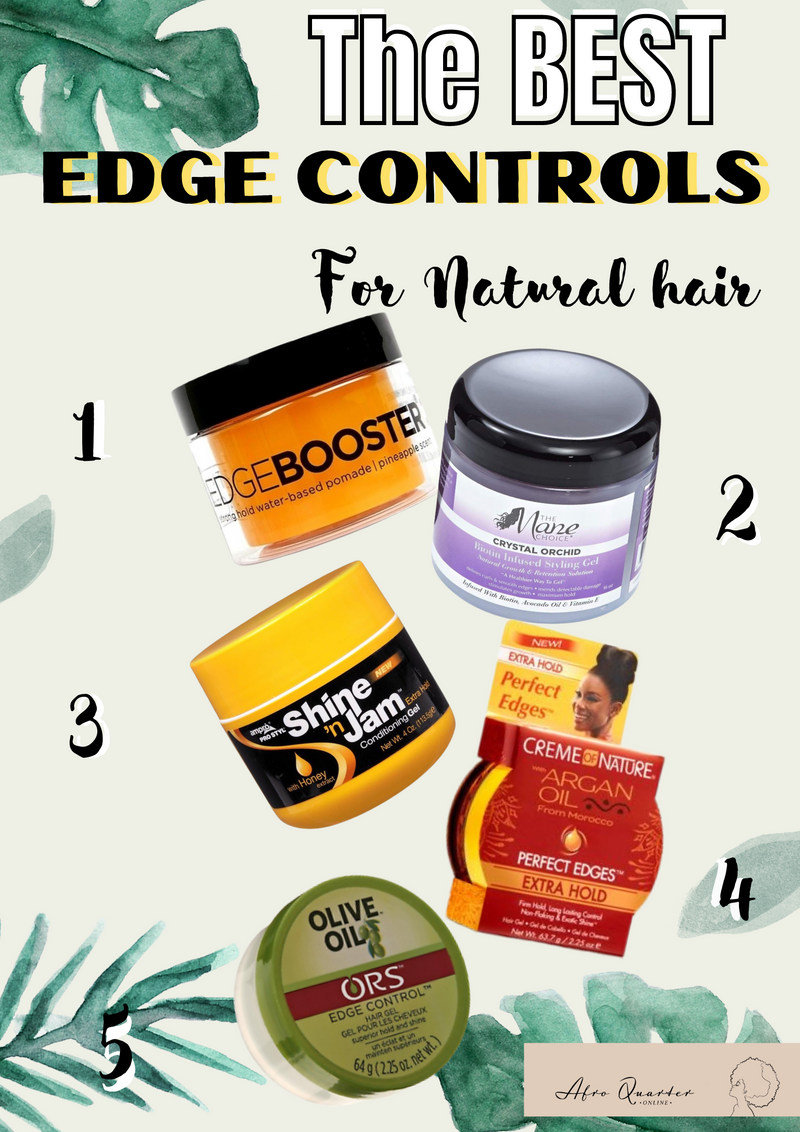 Astonishing Edge Controls For Type 4 Natural Hair- AQ Online