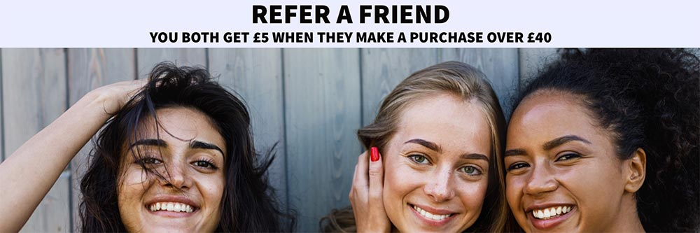 Refer a friend and you both get £5