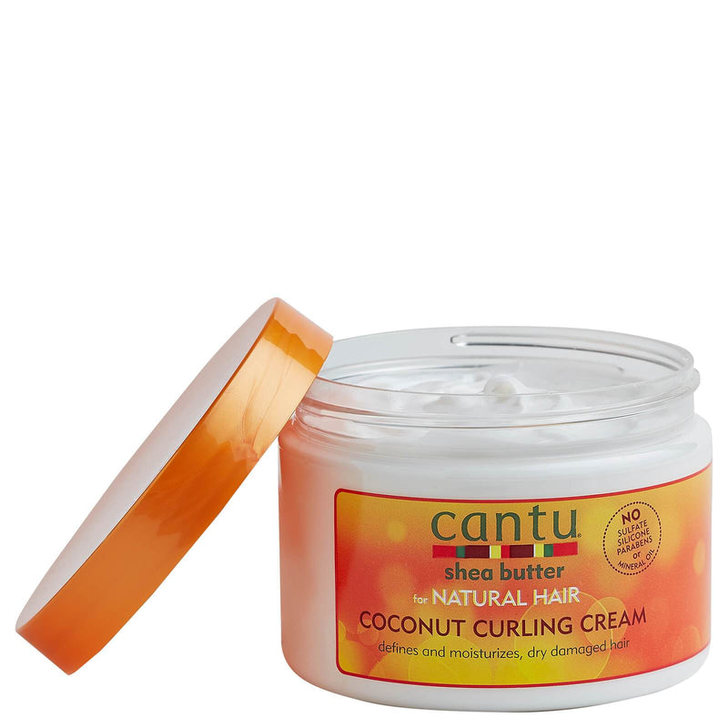Cantu Shea Butter for Natural Hair Coconut Curling Cream 340g - Afroquarter
