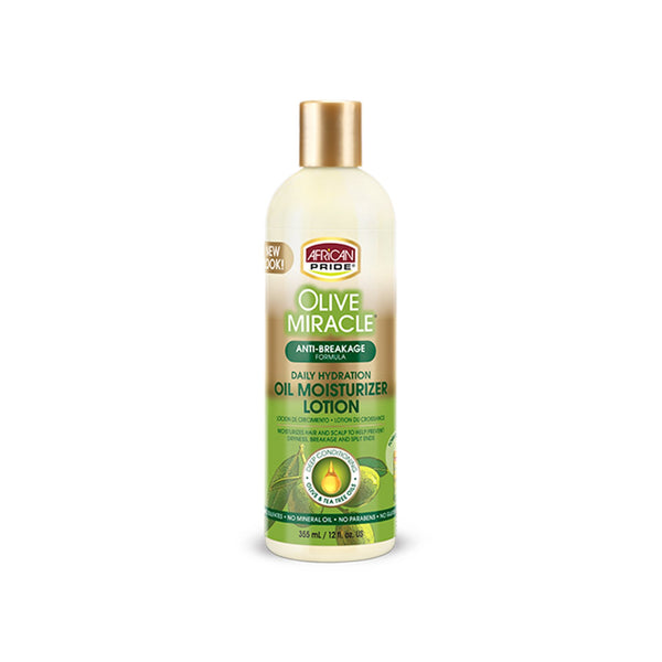 African Pride Olive Miracle Moisturising Lotion (Leave In)- AQ Online