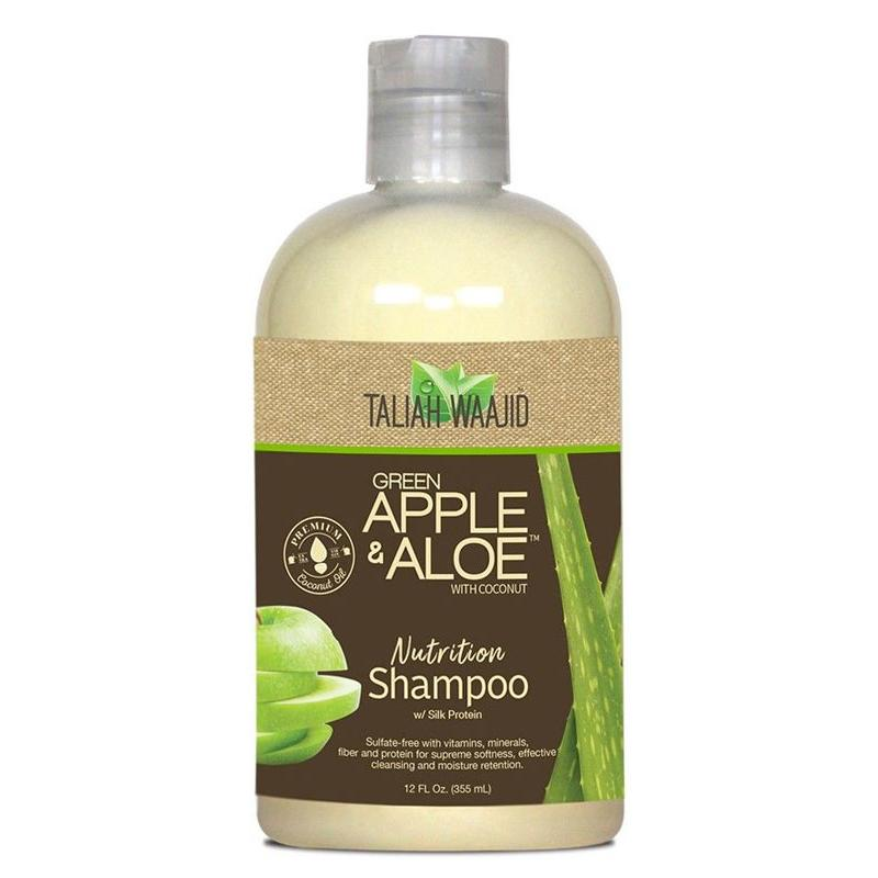 Taliah Waajid Green Apple & Aloe with Coconut Nutrition Shampoo 355 ml - AQ Online