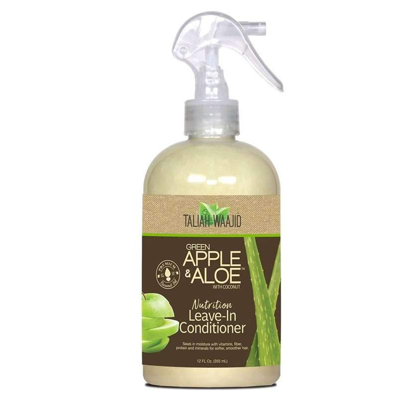Taliah Waajid Green Apple & Aloe with Coconut Nutrition Leave in Conditioner 355 ml - aqnline