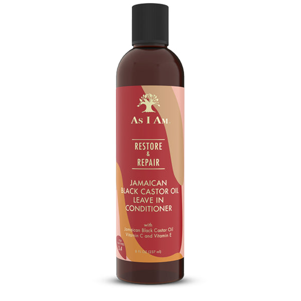 As I Am Jamaican Black Castor Oil Leave in Conditioner- AQ Online
