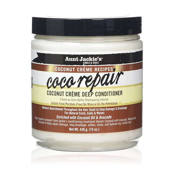Aunt Jackie's CoCo Repair Deep Conditioner 425 g - AQ Online