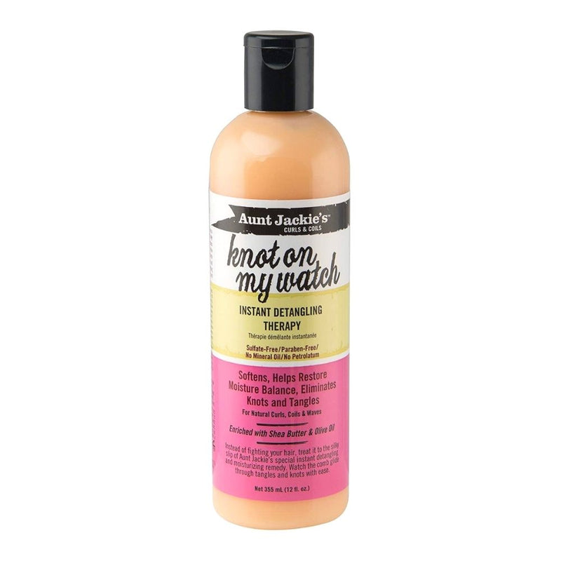 Aunt Jackie's Knot On My Watch Instant Detangler 355ml- AQ Online