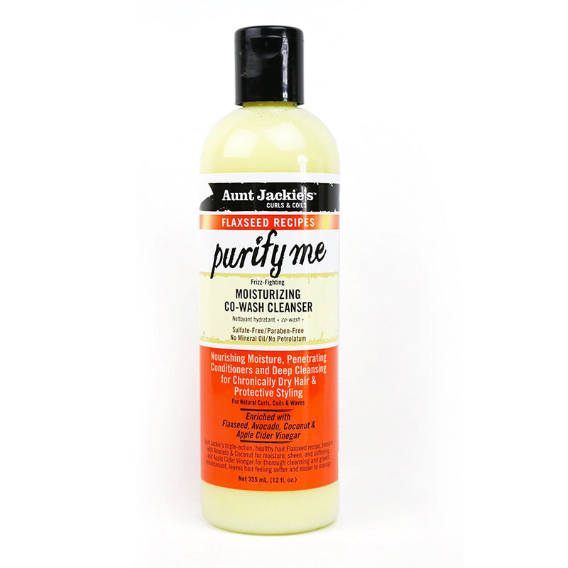 Aunt Jackie's Purify Me Moisturising Co-Wash Cleanser 12 oz - AQ Online