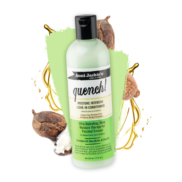 Aunt Jackie's Quench Moisture Intensive Leave In Conditioner - AQ Online